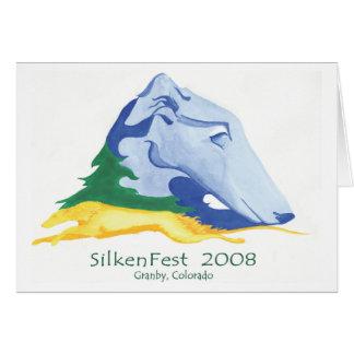 2008 Silkenfest logo Kim Tucker Card