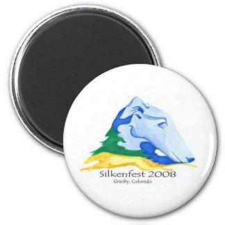 2008 Silkenfest logo magnet