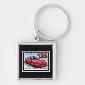 2008 Special Limited Edition Corvette 427 Z06 Keychain