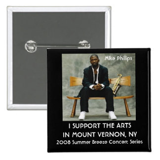 2008 Summer Breeze Concert Series Pinback Button