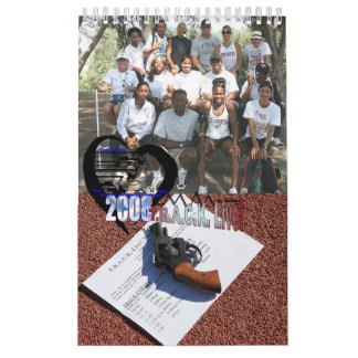 ¡2008 T.R.A.C.K. viven! Calendario del equipo