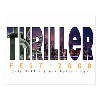 2008 Thrillerfest Postcards