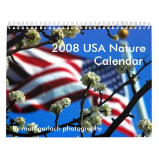 2008 USA Nature Calendar