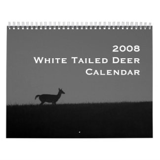 2008 White Tailed Deer Calendar