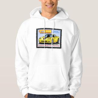 2008 ZHZ Hertz Fun Club Rental Edition Corvette Hooded Sweatshirts