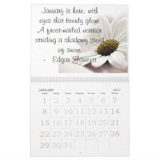 2008FlowerCalenderWithQuotes Calendar