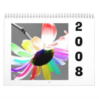2008FlowerCalenderWithQuotes Calendarios