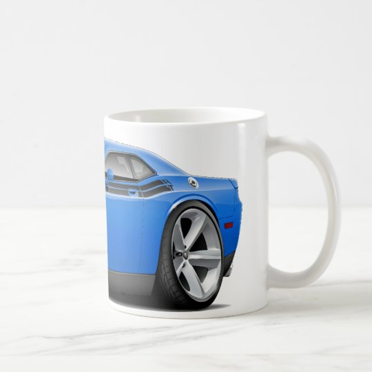 2009-11 Challenger RT B5 Blue-Black Car Coffee Mug