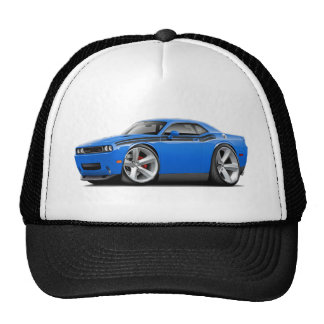 2009-11 Challenger RT B5 Blue-Black Car Trucker Hat