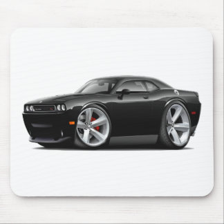 2009-11 Challenger RT Black Car Mouse Pad