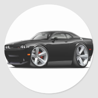 2009-11 Challenger RT Black Car Stickers
