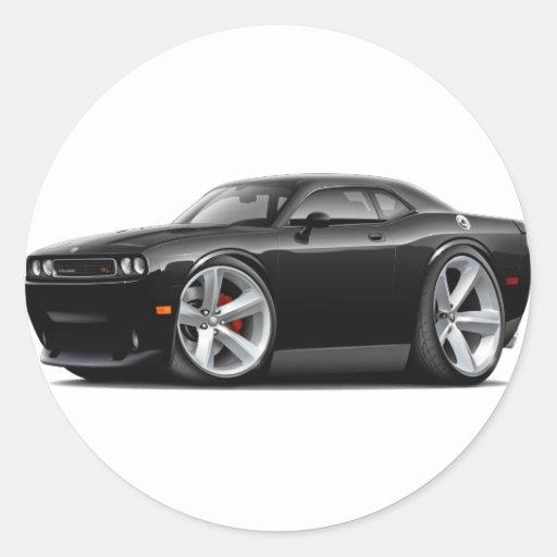 2009-11 Challenger RT Black Car Stickers