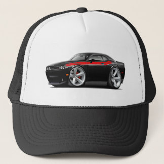 2009-11 Challenger RT Black-Red Car Trucker Hat