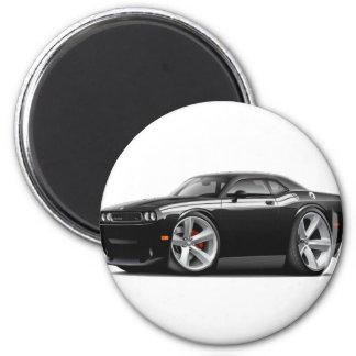2009-11 Challenger RT Black-White Car 2 Inch Round Magnet