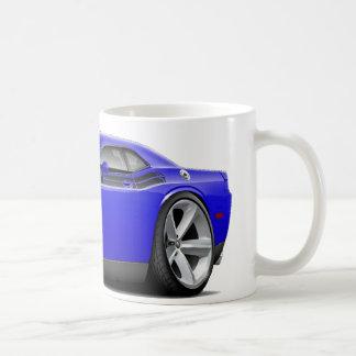 2009-11 Challenger RT Blue-Black Car Classic White Coffee Mug