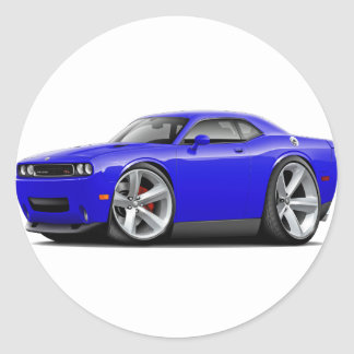 2009-11 Challenger RT Blue Car Stickers