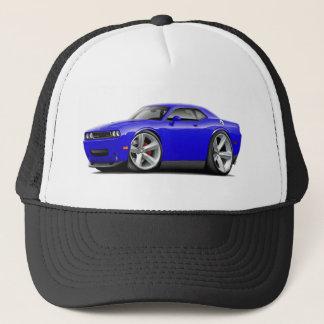2009-11 Challenger RT Blue Car Trucker Hat