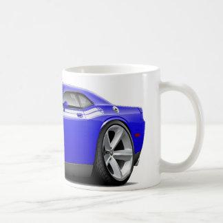 2009-11 Challenger RT Blue-White Car Coffee Mug