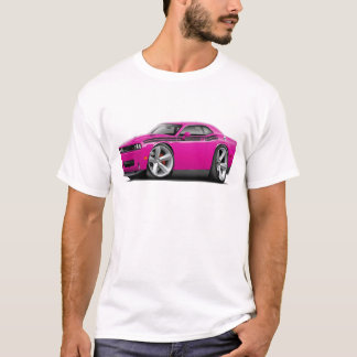 2009-11 Challenger RT Fuschia-Black Car T-Shirt