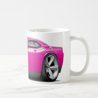 2009-11 Challenger RT Fuschia-White Car Classic White Coffee Mug