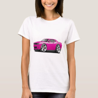 2009-11 Challenger RT Fuschia-White Car T-Shirt
