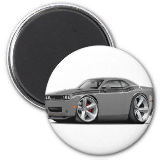 2009-11 Challenger RT Grey-Black Car 2 Inch Round Magnet