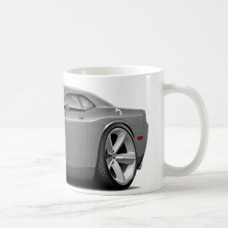 2009-11 Challenger RT Grey Car Classic White Coffee Mug