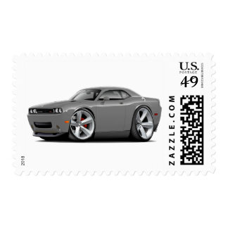 2009-11 Challenger RT Grey Car Postage Stamp