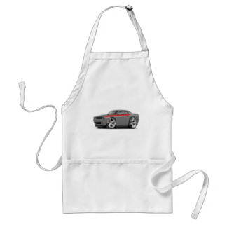 2009-11 Challenger RT Grey-Red Car Adult Apron