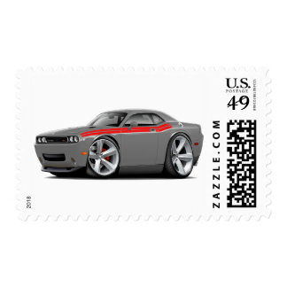 2009-11 Challenger RT Grey-Red Car Stamp