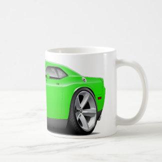 2009-11 Challenger RT Lime Car Coffee Mug