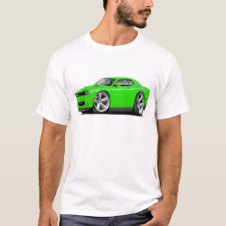 2009-11 Challenger RT Lime Car T-Shirt