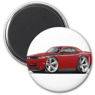 2009-11 Challenger RT Maroon-Black Car Magnet
