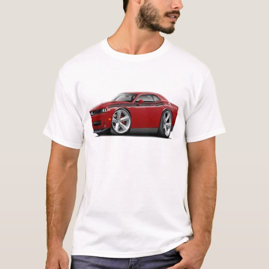 2009-11 Challenger RT Maroon-Black Car T-Shirt
