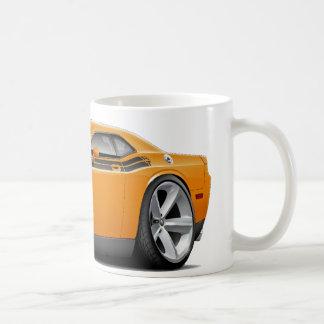 2009-11 Challenger RT Orange-Black Car Coffee Mug