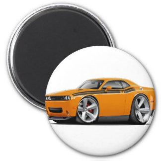 2009-11 Challenger RT Orange-Black Car Magnet