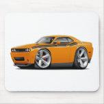 2009-11 Challenger RT Orange-Black Car Mouse Pad