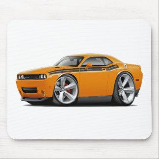 2009-11 Challenger RT Orange-Black Car Mousepads