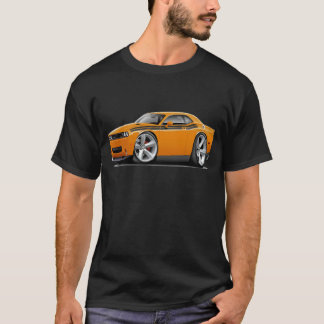 2009-11 Challenger RT Orange-Black Car T-Shirt