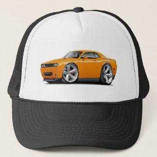 2009-11 Challenger RT Orange Car Trucker Hat