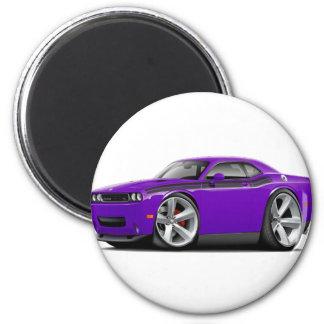 2009-11 Challenger RT Purple-Black Car Magnet