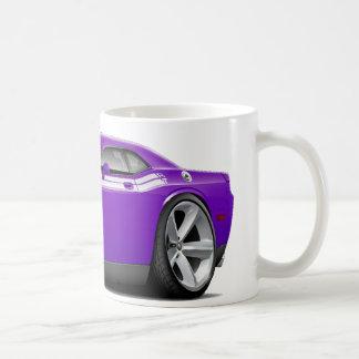 2009-11 Challenger RT Purple-White Car Coffee Mug