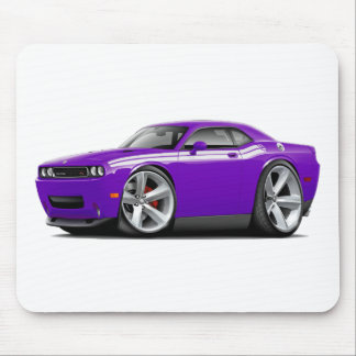 2009-11 Challenger RT Purple-White Car Mouse Pad