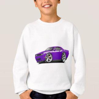 2009-11 Challenger RT Purple-White Car Sweatshirt
