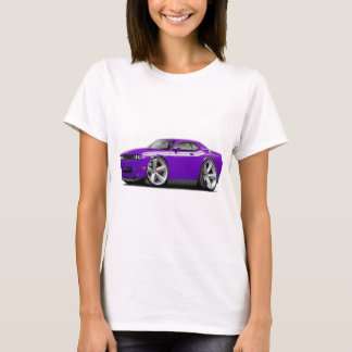 2009-11 Challenger RT Purple-White Car T-Shirt