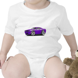 2009-11 Challenger RT Purple-White Car Rompers