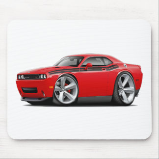 2009-11 Challenger RT Red-Black Car Mousepads
