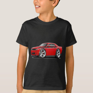 2009-11 Challenger RT Red-Black Car T-Shirt