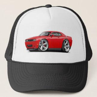 2009-11 Challenger RT Red Car Trucker Hat