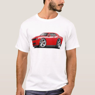 2009-11 Challenger RT Red-White Car T-Shirt